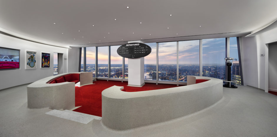 Twa Lounge At 1 Wtc Lubrano Ciavarra Architects